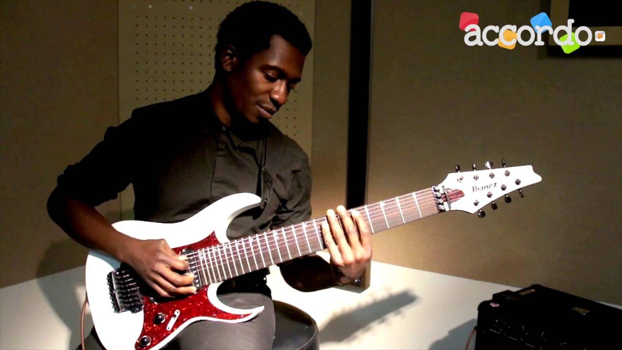 Tosin Abasi Sweep Picking Arpeggios Min7 Youtube
