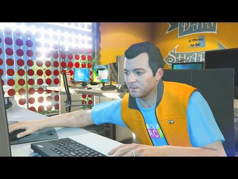 MICHAEL PIDE AYUDA A LESTER - GTA V CAMPAÑA #6