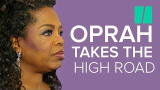 Why Oprah Refuses To Address Trump Insults