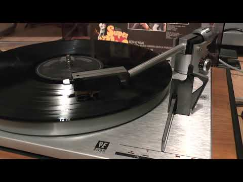 6d22adfe9 VINYL HQ CURTIS MAYFIELD SUPERFLY complete soundtrack LP SIDE 2   1969  PE2020 turntable