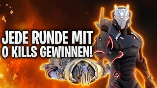 JEDE RUNDE MIT 0 KILLS GEWINNEN! 🤣 | Fortnite: Battle Royale