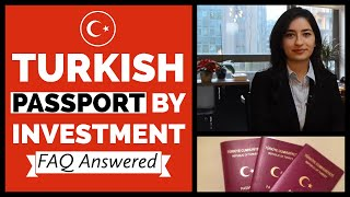 Turkish Passport by Investment - FAQ Answered 2019