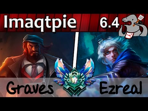 Imaqtpie - Graves/Thresh vs Ezreal/Alistar...