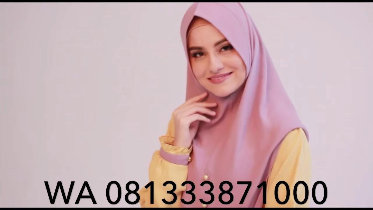 Terbaru 2019 Koleksi Gamis Premium Order Wa 081333871000 Youtube