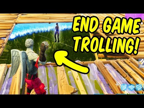 End Game Trolling! - Fortnite Battle Royale New Impulse Grenade Highlights