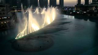 Dubai Fountain am Burj Khalifa - I Will Always Love You - Whitney Houston