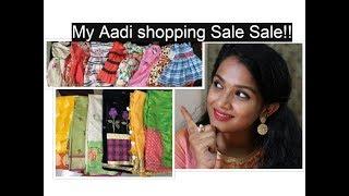 Saree Shopping haul video/ what I brought/ sarees/ Kids dress/☺bloopers !!!!