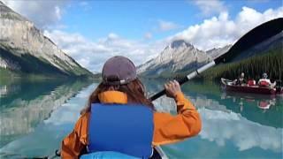Serene Kayaking on Maligne Lake Jasper National Park (Alberta Canada) ExploreCanada