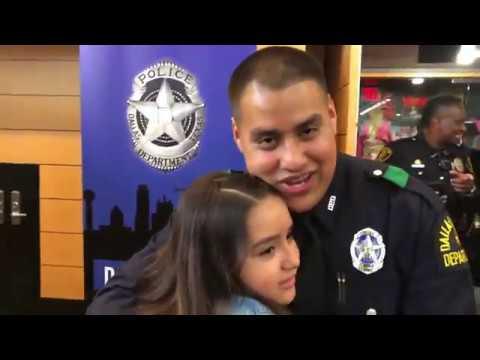 Dallas Police Academy Graduation