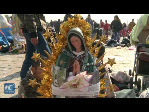 Millions of Mexican pilgrims visit Our Lady of Guadalupe