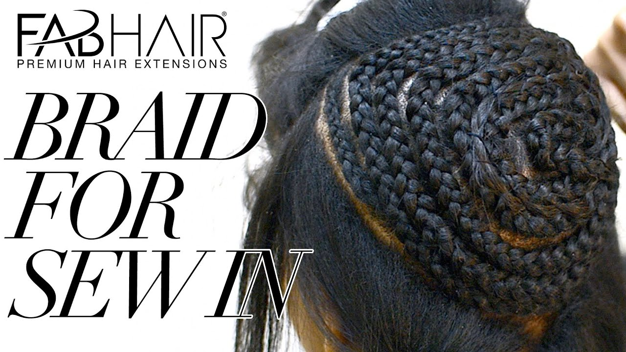 How To Braid For Sew In Weave Virgin Brazilian Hair Extensions