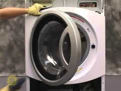 Ge Front Load Washer Gasket Boot Servicing Youtube