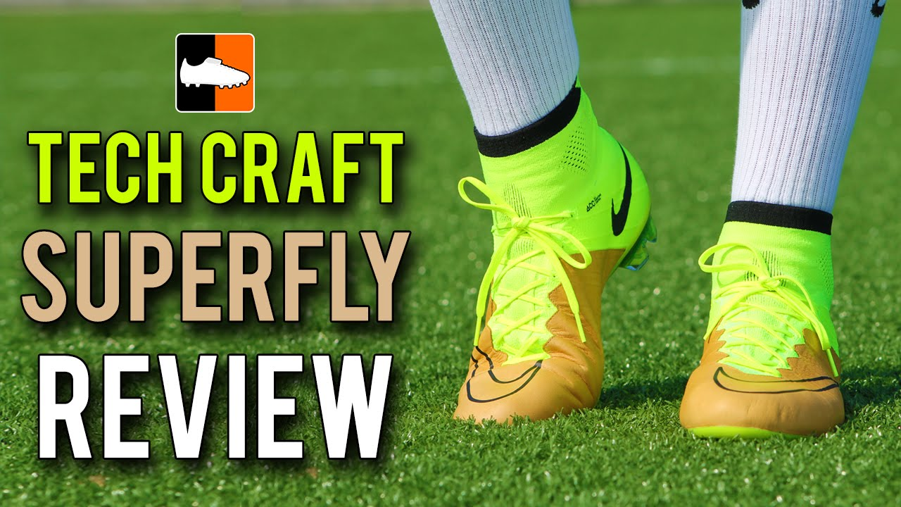 Tech Craft Mercurial Superfly IV Review - Nike Leather Speed Boot - YouTube