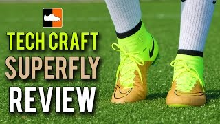 Tech Craft Mercurial Superfly IV Review - Nike Leather Speed Boot
