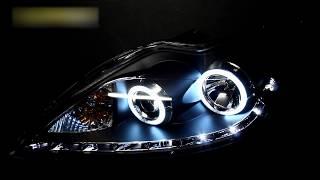 Тюнинг фары Форд Фокус 2 с ангельскими глазками