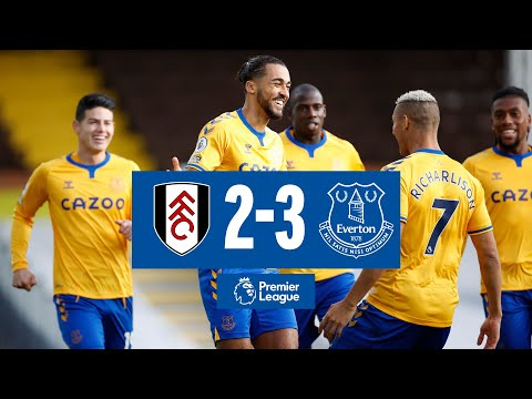 Fulham Everton Goals And Highlights