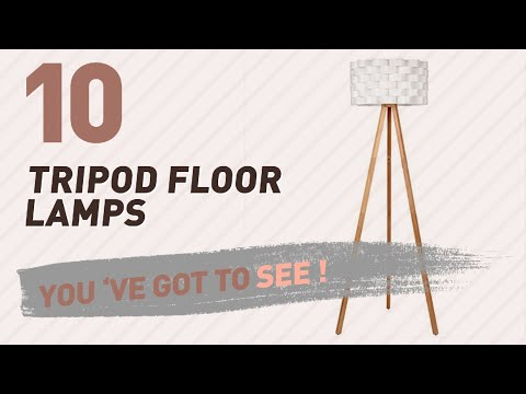 Tripod Floor Lamps // New & Popular 2017