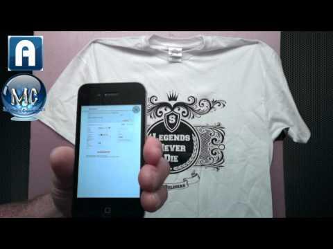 Augmented reality T-shirts Aurasma