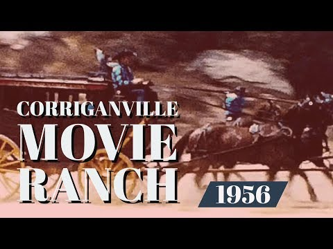 Corriganville Movie Ranch Rare Film Footage 1956