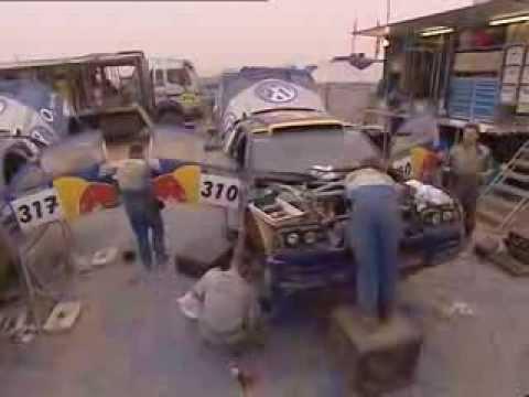 2005 Volkswagen Motorsport Race Tuareg Dakar programme
