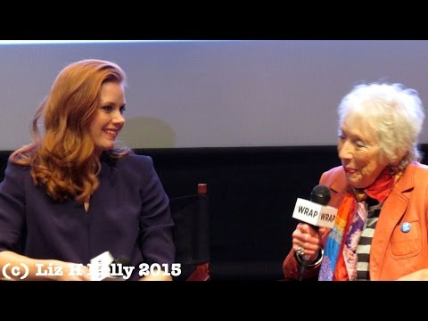Amy Adams and Margaret Keane tell Big Eyes Movie Story