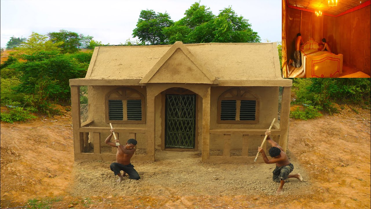 Building Jungle Mud Villa  With Décor Private Living Room