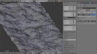 Blender Урок - Моделирование. Ландшафт. Второй способ