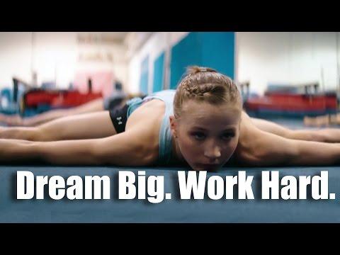 Dream Big. Work Hard. – Motivational video