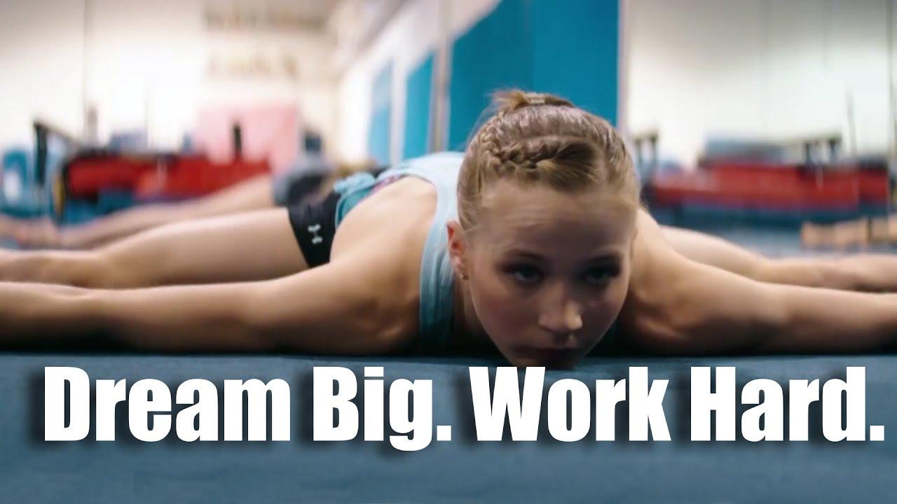 Dream Big. Work Hard. - Motivational video