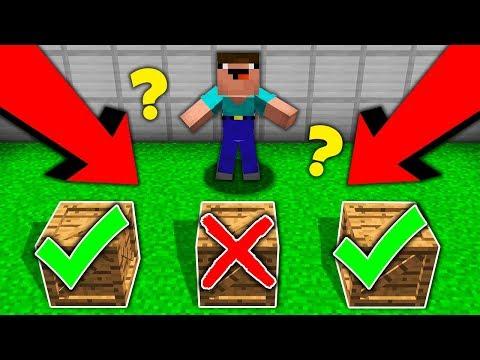 Minecraft Battle : WHAT WILL CHOOSE A NOOB IN RANDOM BOX Challenge In Minecraft Animation