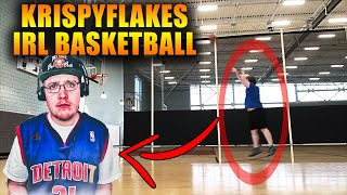 13 Minutes Of KrispyFlakes Playing IRL Basketball