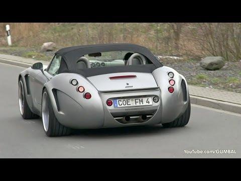 Wiesmann GT MF5 Roadster - Twin Turbocharged V8 Sounds!