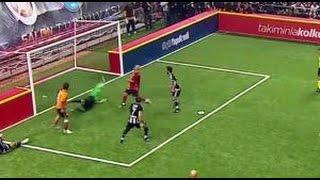 Ahmet Dursun'un Golü | 4 Büyükler Salon Turnuvası | Beşiktaş 6 - Galatasaray 6 | (06.01.2016)