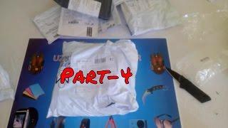 Aliexpress'ten Gelen Toplu Siparişlerim Paket Açılımı Unboxing Part-4