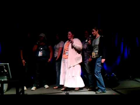 karaoke at Stargate con 2011 Chicago