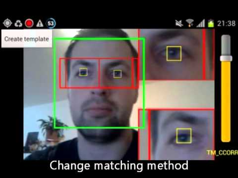 Android Eye Detection And Tracking With Opencv Youtube