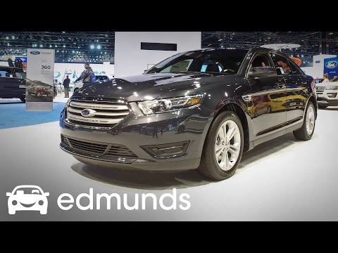 2017 Ford Taurus Review | Features Rundown | Edmunds