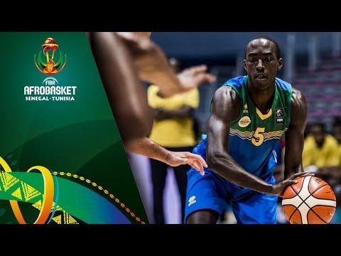 Guinea v Rwanda - Highlights - FIBA AfroBasket 2017