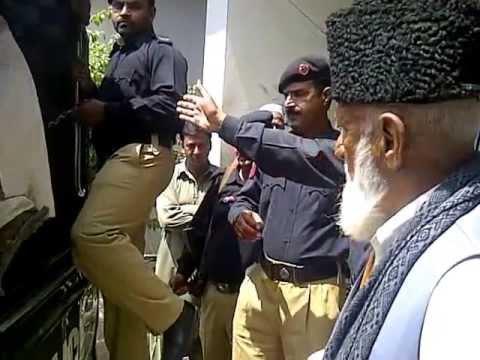 Police Aggression in DHQ V1 Kotli 230413
