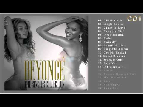 Beyonce (2009) -  The singles collection CD1