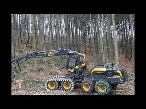 TRACKS and Forestry Chains - TRACKS y cadenas forestales - HARVESTER Scorpion King PONSSE