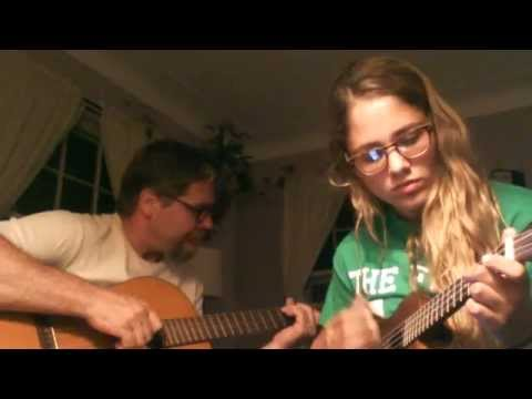Father/Daughter duet of The Moon Song
