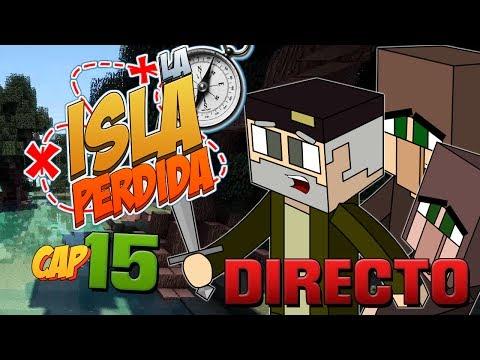 EN DIRECTO!! - Episodio 15   LA ISLA PERDIDA   Minecraft Survival Mods Serie