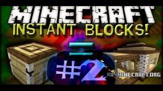 Instant Blocks Мод Для Minecraft 1.7.10