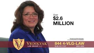 Lupe was injured in a car accident. Vrdolyak Law Group fought for her!