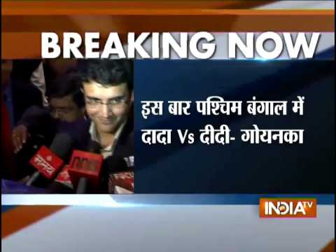 Former Indian Cricketer Sourav Ganguly Likely to Join BJP - India TV