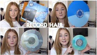VINYL RECORD HAUL! EMO/ROCK/POP PUNK | Rachel Hatley