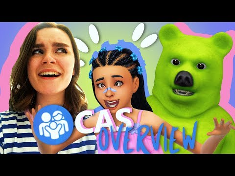 THE SIMS 4 PARENTHOOD | CAS OVERVIEW