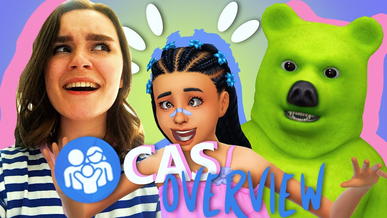 the sims 4 parenthood cas overview youtube