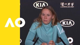 Caroline Wozniacki press conference (3R) | Australian Open 2019